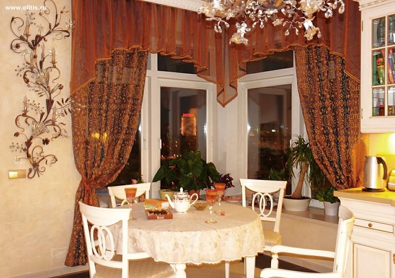 ламбрекены в гостиную фото.